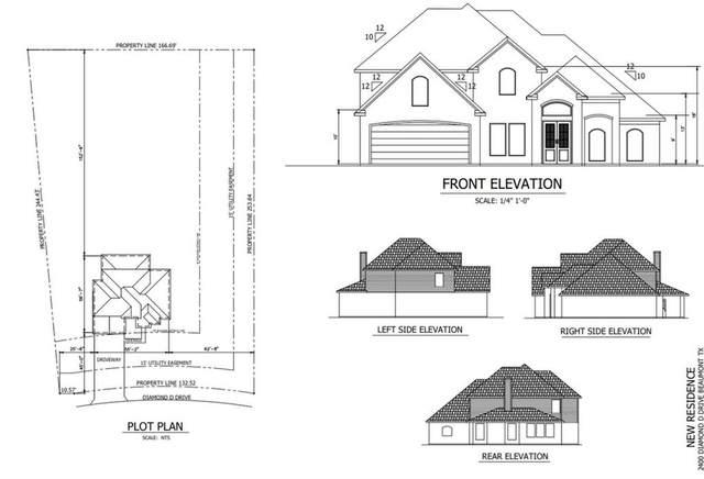 2400 Diamond D Drive, Beaumont, TX 77713 (MLS #38339219) :: The Property Guys