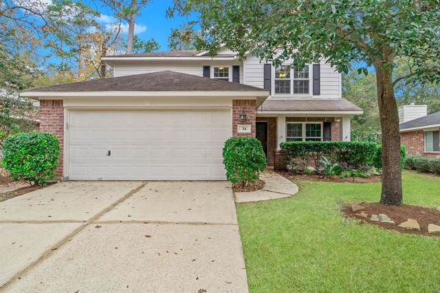 34 Steep Trail Place, The Woodlands, TX 77385 (MLS #38385341) :: Giorgi Real Estate Group