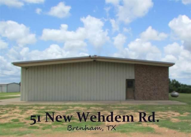 51 New Wehdem Road, Brenham, TX 77833 (MLS #38464388) :: The SOLD by George Team