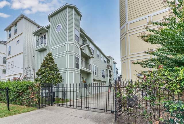 1129 W 15th 1/2 Street F, Houston, TX 77008 (MLS #38470090) :: My BCS Home Real Estate Group