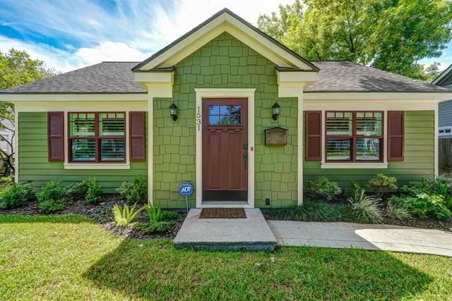 1531 Sue Barnett Drive, Houston, TX 77018 (MLS #38544284) :: Caskey Realty