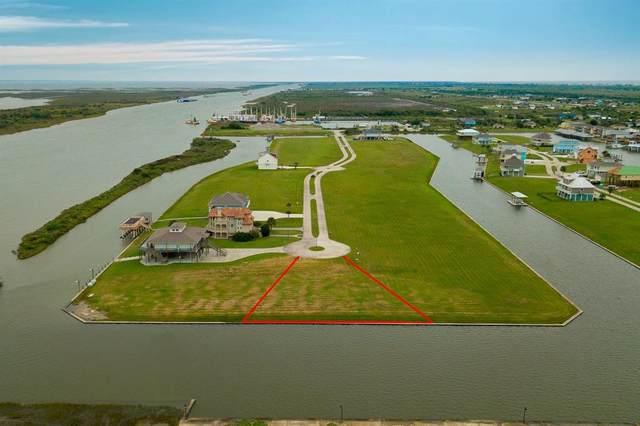 1800 Laguna Harbor Estate Boulevard, Port Bolivar, TX 77650 (MLS #38598931) :: Front Real Estate Co.
