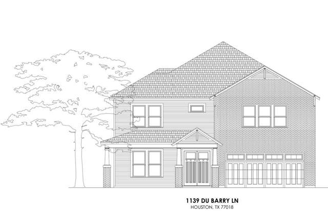 1139 Du Barry Lane, Houston, TX 77018 (MLS #38859571) :: Green Residential