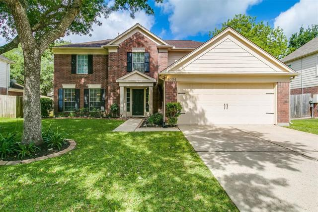 4004 E Spring Branch Drive, Pearland, TX 77584 (MLS #3891814) :: Caskey Realty