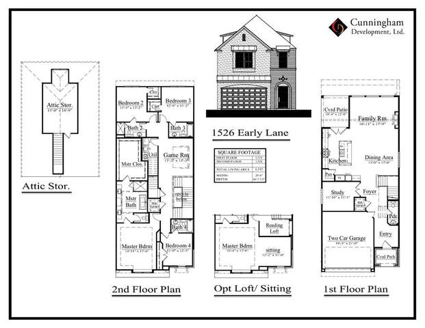 1526 Early Lane, Houston, TX 77055 (MLS #39263326) :: The Bly Team