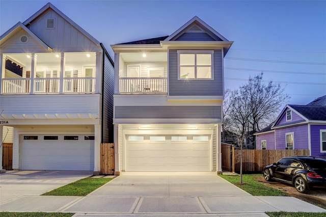 1226 Nicholson Street A, Houston, TX 77008 (MLS #39303195) :: Keller Williams Realty