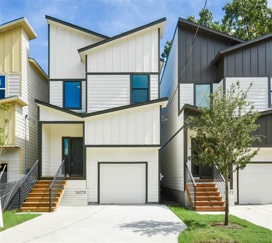 1407 E 33rd Street B, Houston, TX 77022 (MLS #39429980) :: My BCS Home Real Estate Group