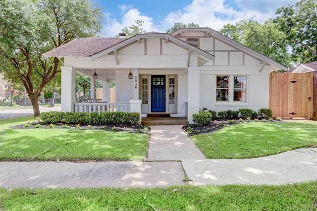 4036 Oak Ridge Street, Houston, TX 77009 (MLS #39446501) :: Green Residential