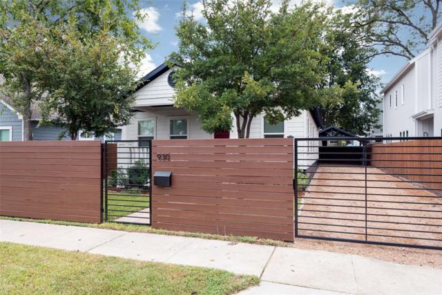 930 Robbie Street, Houston, TX 77009 (MLS #39472703) :: The Johnson Team