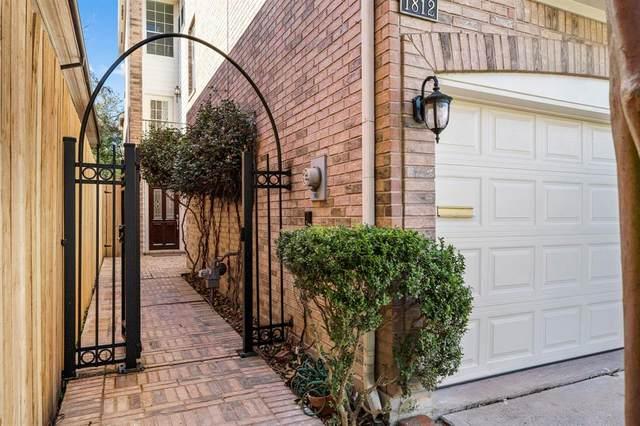 1812 Elmen Street, Houston, TX 77019 (MLS #39473005) :: Keller Williams Realty