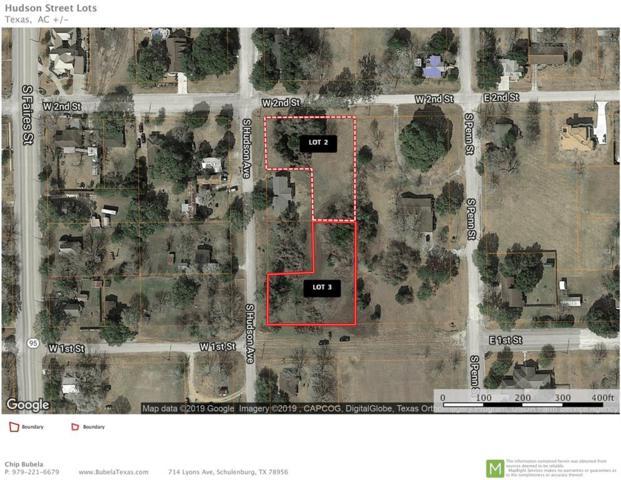 003 S Hudson, Flatonia, TX 78941 (MLS #39663794) :: The Parodi Team at Realty Associates