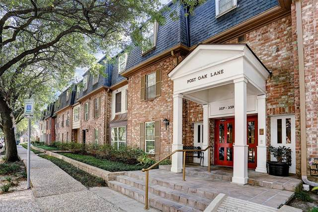 357 N Post Oak Lane #202, Houston, TX 77024 (MLS #39924428) :: Texas Home Shop Realty