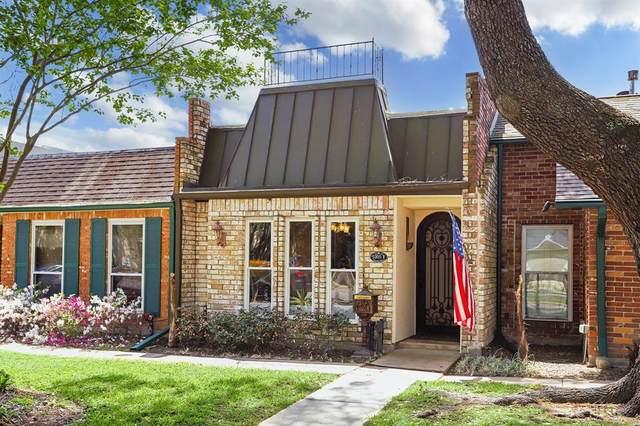 5205 Palmetto Street F, Bellaire, TX 77401 (MLS #40077556) :: The Freund Group