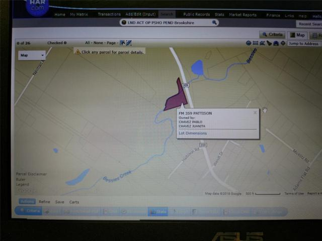 000 Fm 359, Pattison, TX 77423 (MLS #40187137) :: NewHomePrograms.com LLC