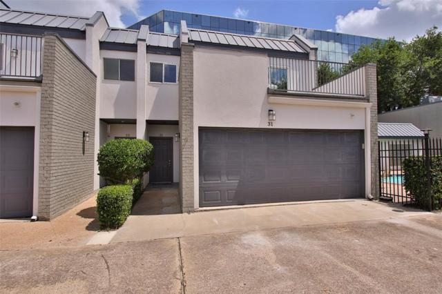 1300 Augusta Drive #31, Houston, TX 77057 (MLS #40270729) :: Magnolia Realty