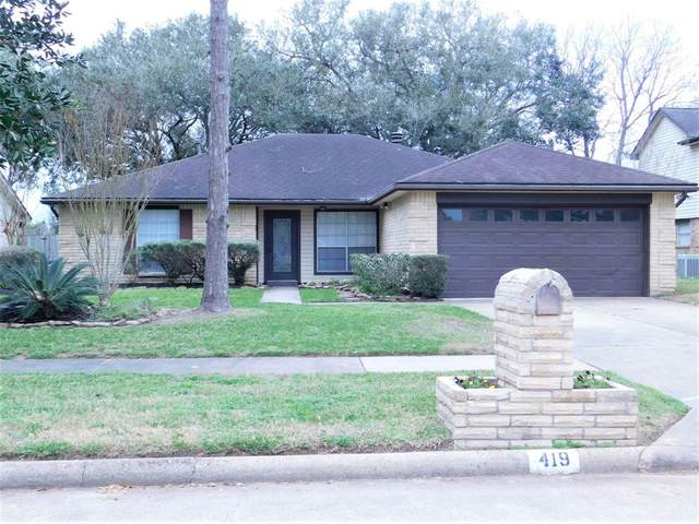 419 Old Colony Drive, Richmond, TX 77406 (MLS #40757770) :: CORE Realty