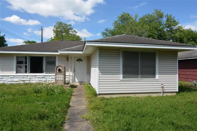 1039 Creager Street, Houston, TX 77034 (MLS #40939217) :: Texas Home Shop Realty