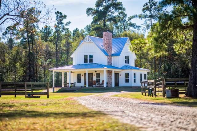 6290 Jackson Road, Montgomery, TX 77316 (MLS #41023742) :: Texas Home Shop Realty