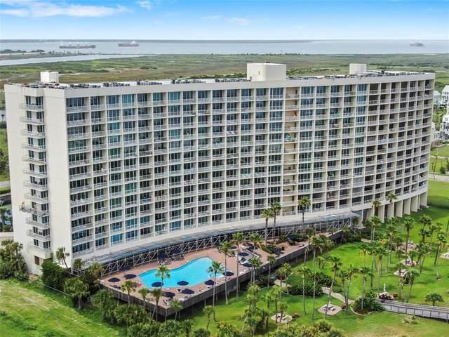 1401 E Beach Drive #409, Galveston, TX 77550 (MLS #41158078) :: Guevara Backman
