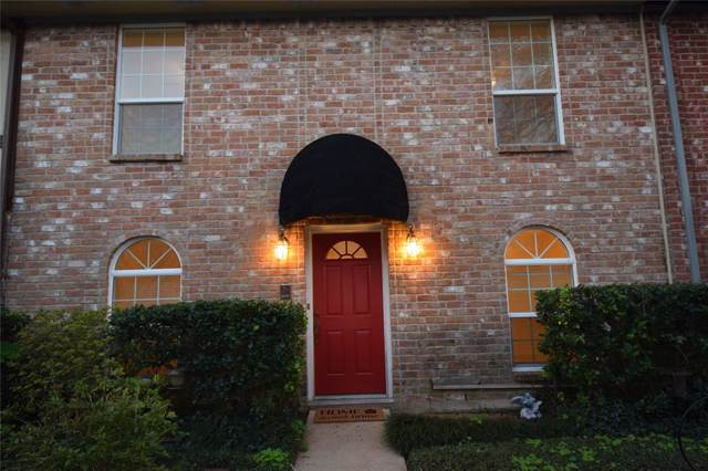 14732 Perthshire Road D, Houston, TX 77079 (MLS #41330860) :: The Bly Team