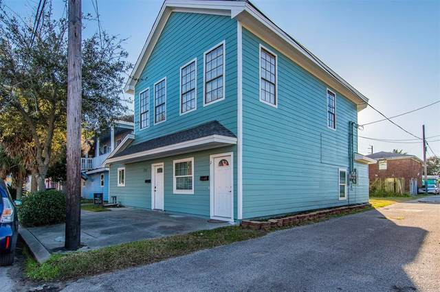715 35th Street, Galveston, TX 77550 (MLS #41460224) :: The Bly Team