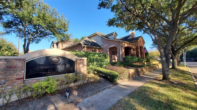 2255 Braeswood Park Drive #101, Houston, TX 77030 (MLS #41481468) :: Caskey Realty
