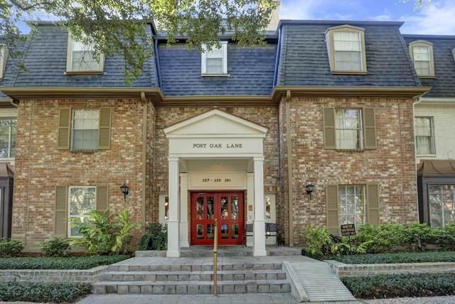 359 N Post Oak Lane #223, Houston, TX 77024 (MLS #41671415) :: Connect Realty