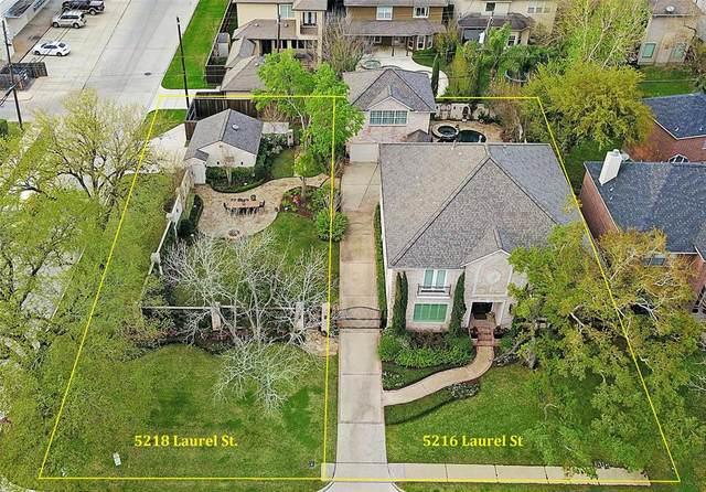 5218 Laurel Street, Bellaire, TX 77401 (MLS #41689149) :: The Home Branch