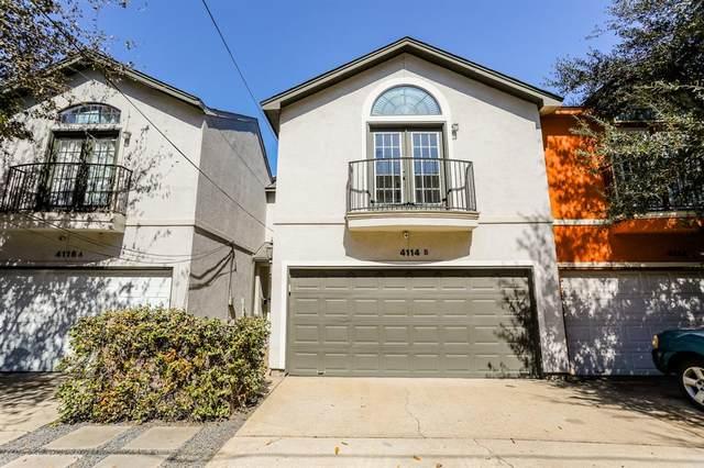 4114 Marina Street B, Houston, TX 77007 (MLS #41806089) :: Giorgi Real Estate Group