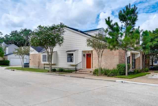 12625 Memorial Drive #43, Houston, TX 77024 (MLS #41812131) :: Magnolia Realty