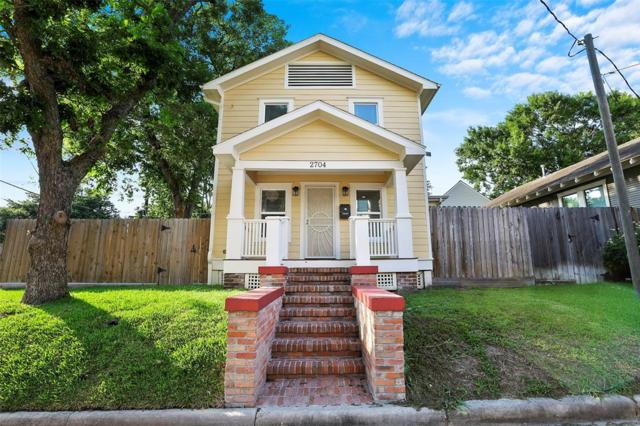 2704 N Sabine Street, Houston, TX 77009 (MLS #41985696) :: The Bly Team