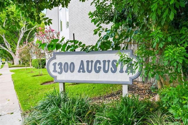 1300 Augusta Drive #9, Houston, TX 77057 (MLS #42256396) :: Texas Home Shop Realty