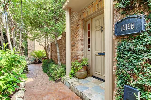 1519 Potomac Drive B, Houston, TX 77057 (MLS #42267918) :: Giorgi Real Estate Group