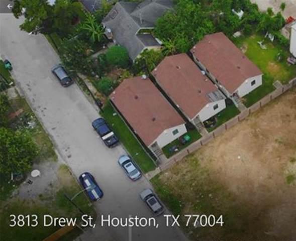3813 Drew Street, Houston, TX 77004 (MLS #42290168) :: The SOLD by George Team