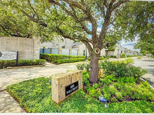 682 E Wilcrest Drive N #682, Houston, TX 77042 (MLS #42463139) :: Texas Home Shop Realty
