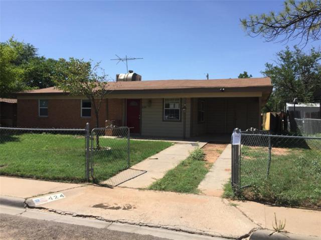 424 E 49th Street, Odessa, TX 79762 (MLS #43087350) :: Giorgi Real Estate Group
