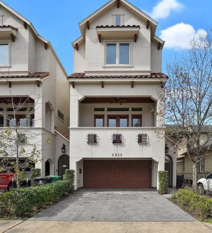 1311 Malone Street, Houston, TX 77007 (MLS #43159201) :: Texas Home Shop Realty