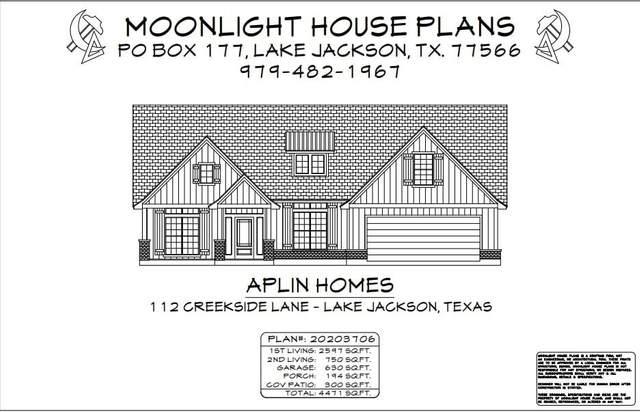 112 Creekside Lane, Lake Jackson, TX 77566 (MLS #43527804) :: The Queen Team
