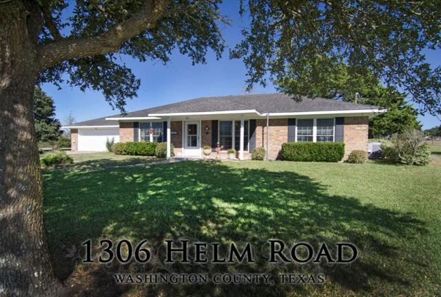 1306 Helm Road, Brenham, TX 77833 (MLS #43605776) :: Texas Home Shop Realty