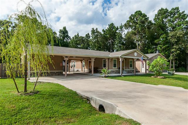 629 Hidden Oaks Drive, Point Blank, TX 77364 (MLS #43691704) :: Mari Realty