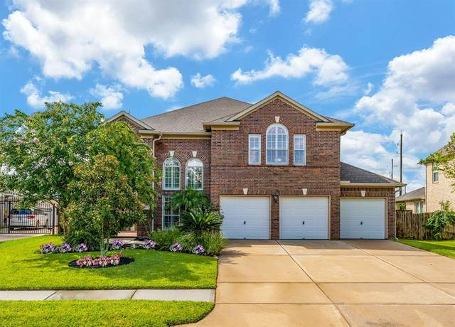 12505 Pepper Creek Lane, Pearland, TX 77584 (MLS #4407486) :: The SOLD by George Team