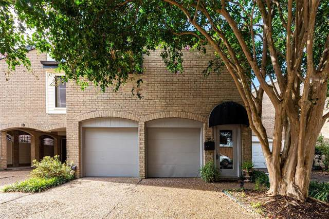 516 S Post Oak Lane #17, Houston, TX 77056 (MLS #44141120) :: The Heyl Group at Keller Williams