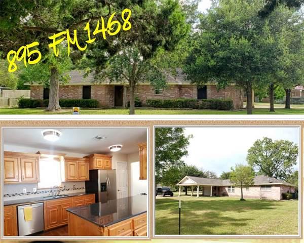 895 Fm 1468, Markham, TX 77456 (MLS #44695887) :: Texas Home Shop Realty