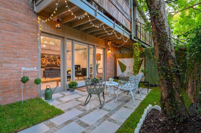 3944 W Alabama Street #7, Houston, TX 77027 (MLS #44708004) :: Ellison Real Estate Team