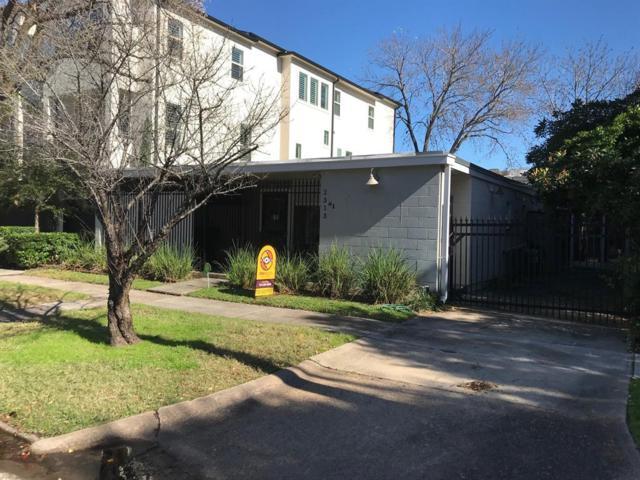 2313 Brun Street, Houston, TX 77019 (MLS #44779190) :: Texas Home Shop Realty