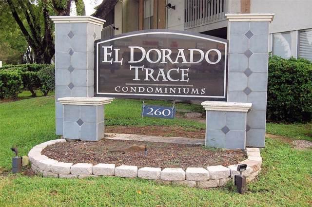 260 El Dorado #704, Webster, TX 77598 (MLS #44897325) :: The SOLD by George Team