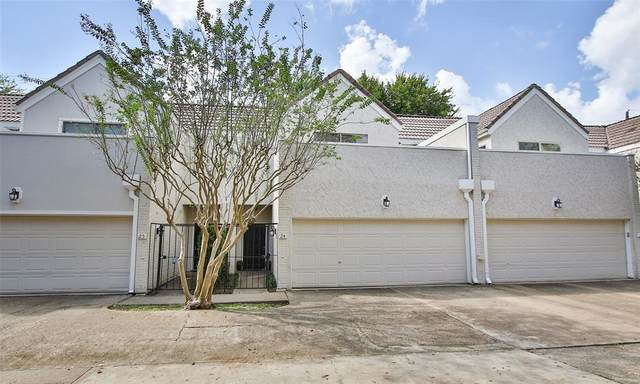 1330 Augusta Drive #24, Houston, TX 77057 (MLS #45159654) :: The SOLD by George Team