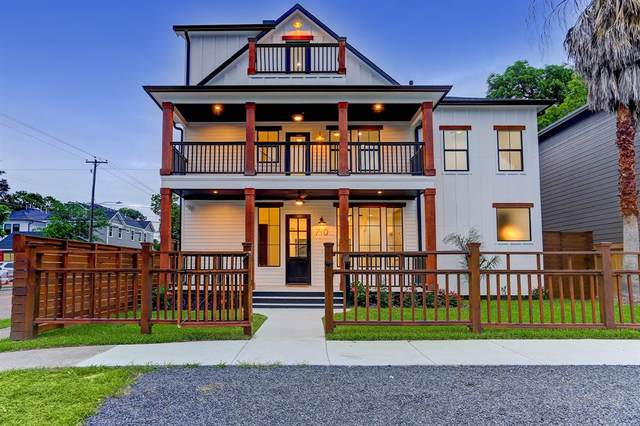 710 Cordell Street, Houston, TX 77009 (MLS #45629923) :: Connell Team with Better Homes and Gardens, Gary Greene