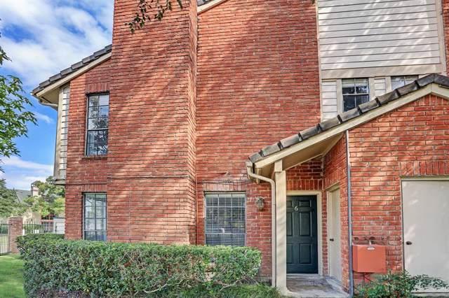 2211 S Kirkwood Road #6, Houston, TX 77077 (MLS #45799289) :: Texas Home Shop Realty