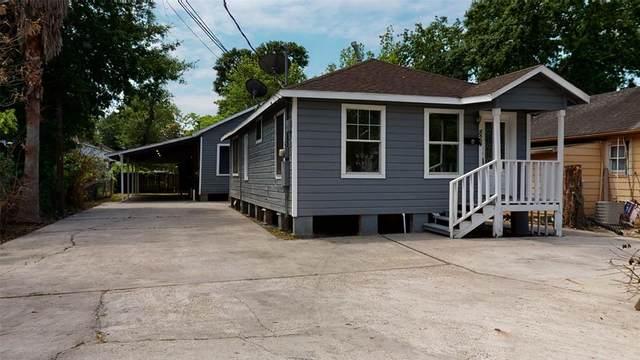 824 Wilkes Street, Houston, TX 77009 (#45887631) :: ORO Realty